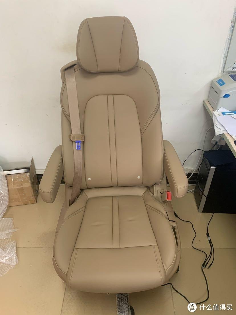目前站内最完善的汽车座椅改装办公座椅方案(升降座椅 电动调节靠背)