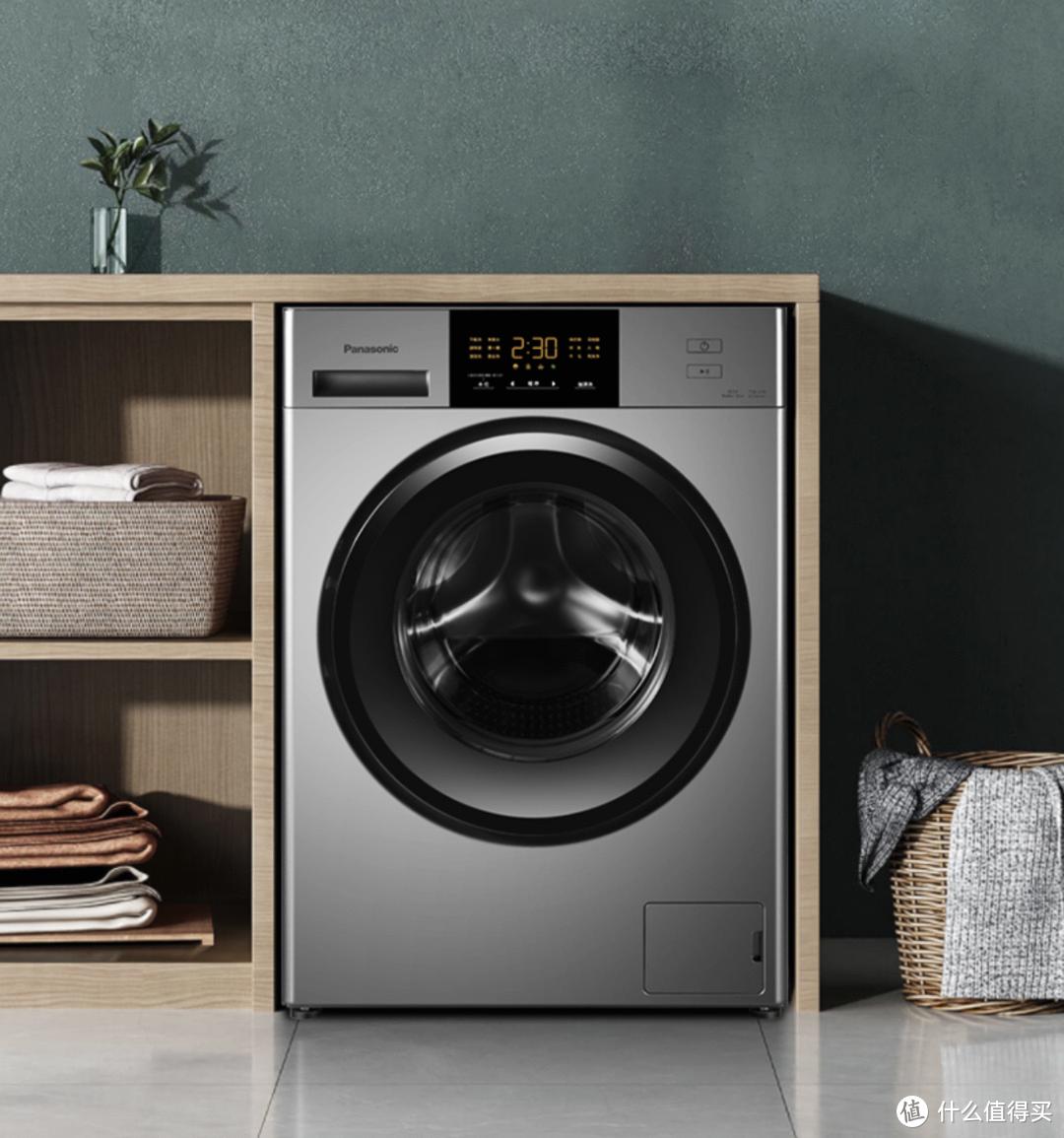 装修季必选好物!松下推出新款变频滚筒洗衣机XQG100-E10G
