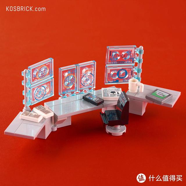 钢铁侠实验室MOC,比官方套装内容更丰富!