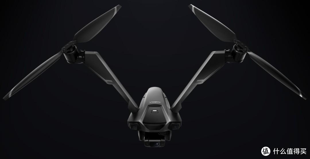 首发评测,超酷的全球首款双旋翼无人机,每次能飞50分钟