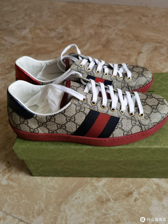 也敢叫Supreme?Gucci Ace系列Supreme帆布运动鞋