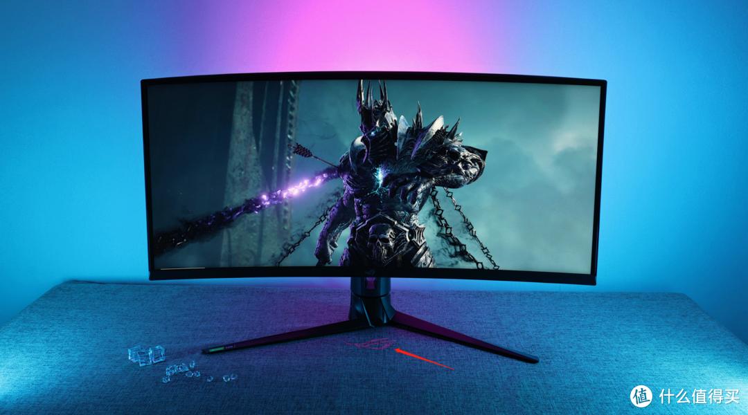 色彩、观感、响应速度三开花! ROG XG349C IPS曲面超宽屏显示器评测