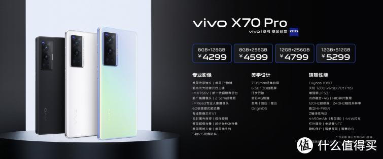 蔡司影像,品阅时光 年度影像旗舰 vivo X70 系列正式发布