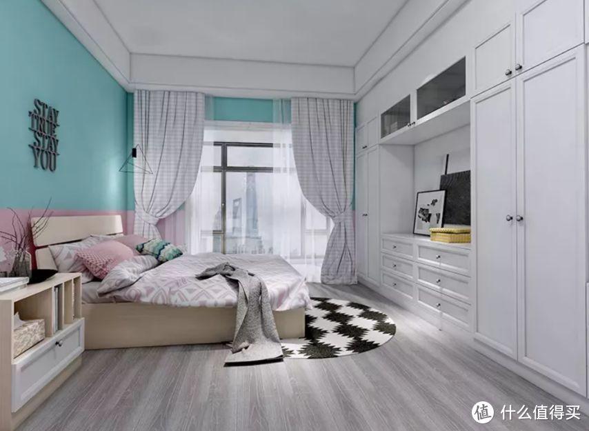 衣柜位置选得好,卧室宽敞又美观!