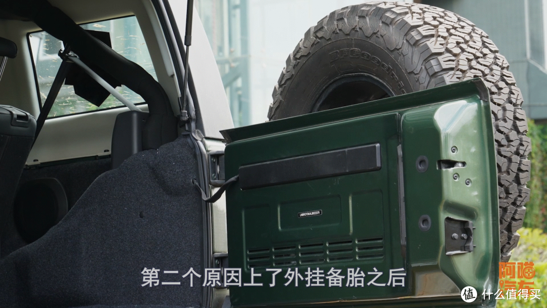 SUV外挂备胎帅气又省空间,那么经典的设计,为何现在慢慢消失了
