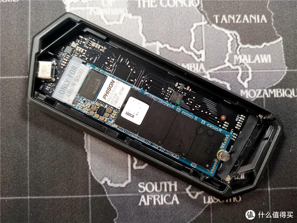 带败家之眼灯效的ROG Strix Arion S500移动固态硬盘体验