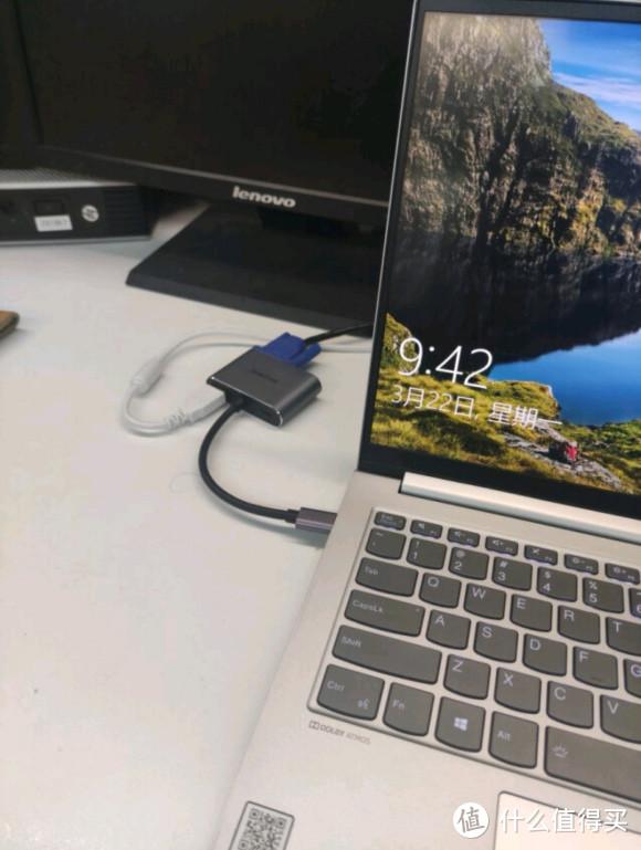 硕盟 四口拓展坞(TYPE C转HDMI+VGA+USB3.0+PD3.0)