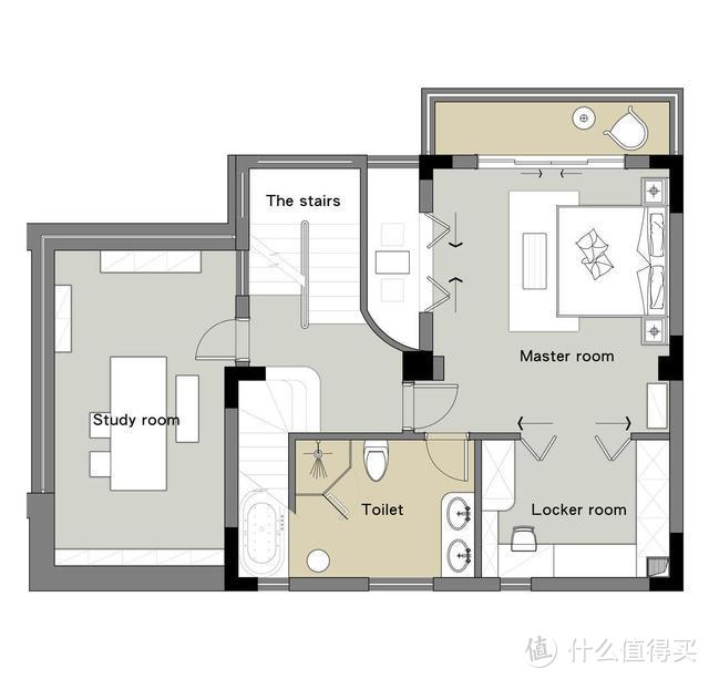三楼平面布置图