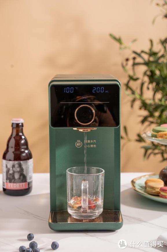 IAM即热饮水机IW3:小巧精致,秒出热水,给你年轻化的饮水体验