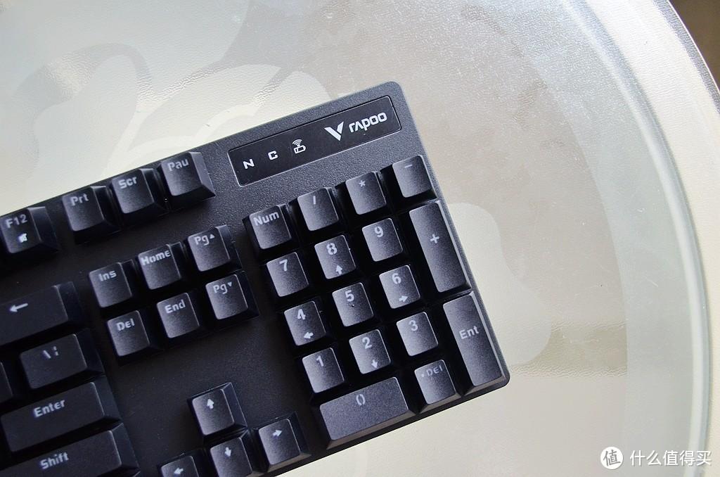 雷柏V500Pro多模机械键盘:四种连接方式,可同时连接五台设备