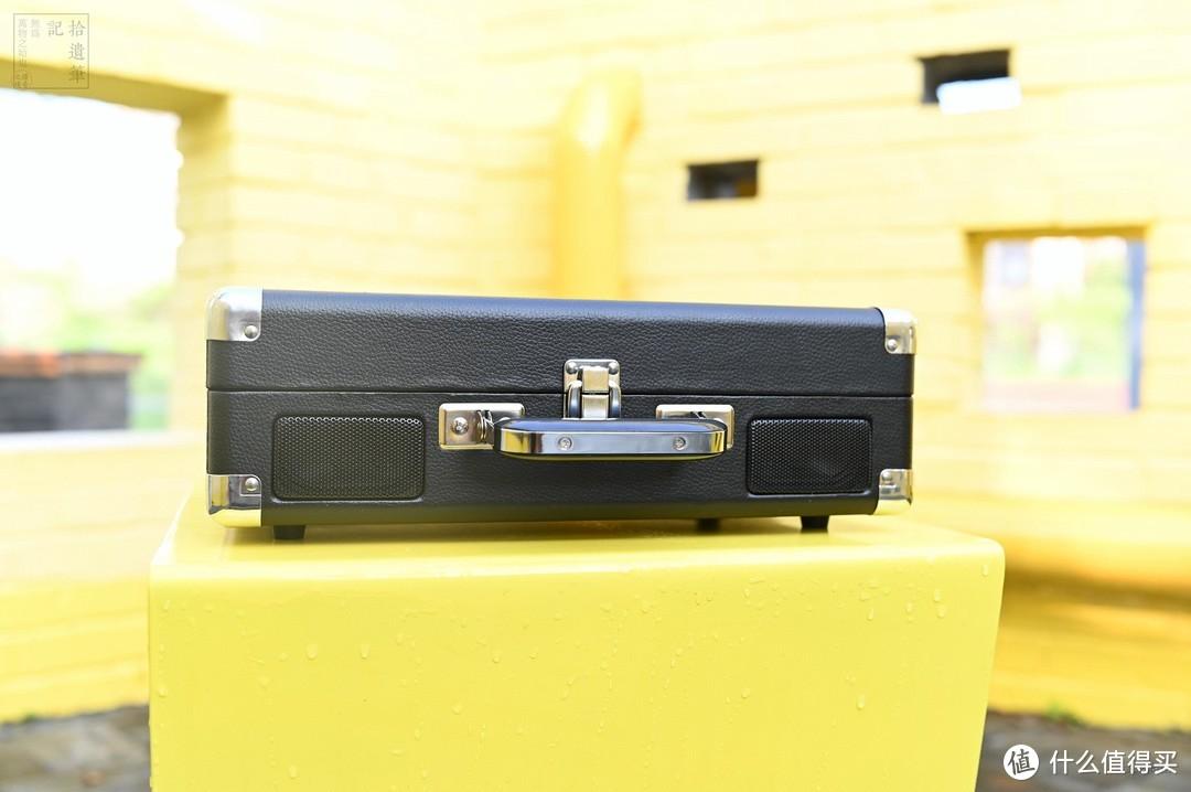 零门槛的入门唱机,操作简单的黑胶播放工具,AUNETS手提箱式黑胶唱片机体验