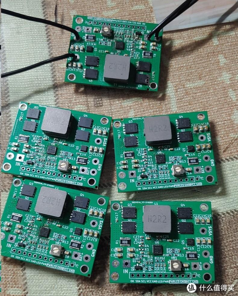 diy的直流ups控制板 TI BQ25713核心芯片