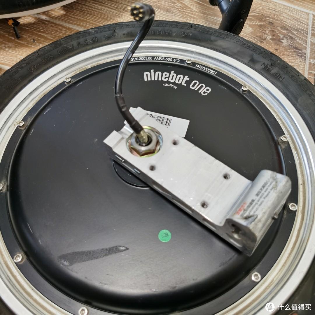 车轮和电机