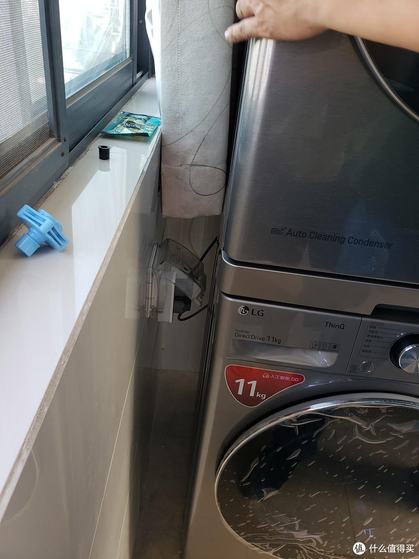 """LG 2021款 滚筒 """"洗+烘"""" 套组的购买使用体验"""