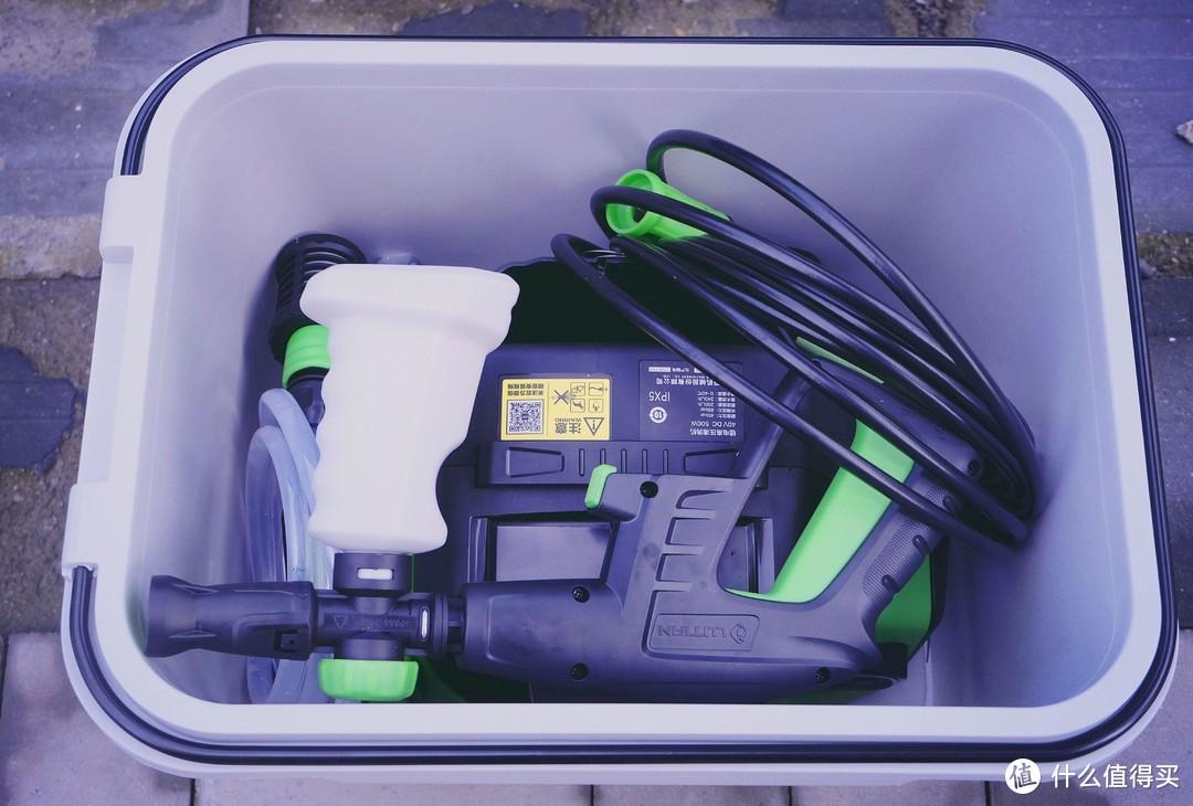 消费千元给电动车做SPA,看看值不值!绿田T5无线锂电洗车机使用体验分享