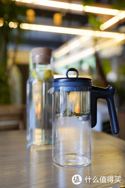 一冲一滤,茶居生活里的小助手:鸣盏无杆飘逸杯体验