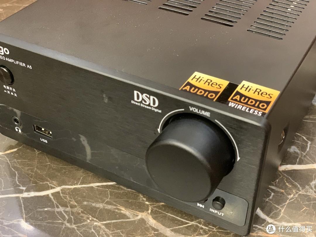 雅乐狗(Yalego)A5 hifi功放机入门级hifi解码器功放就选ta