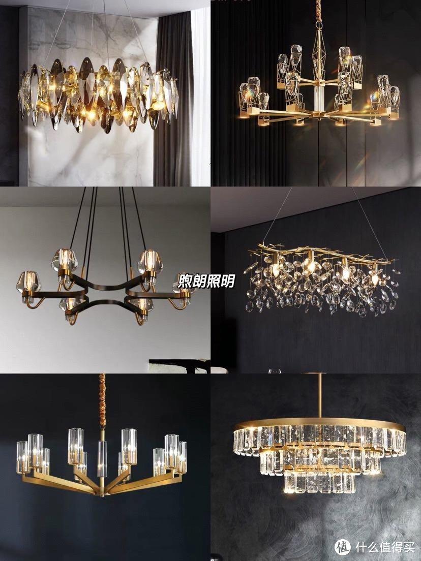 大气时尚的现代轻奢灯饰 客厅主灯 吊灯