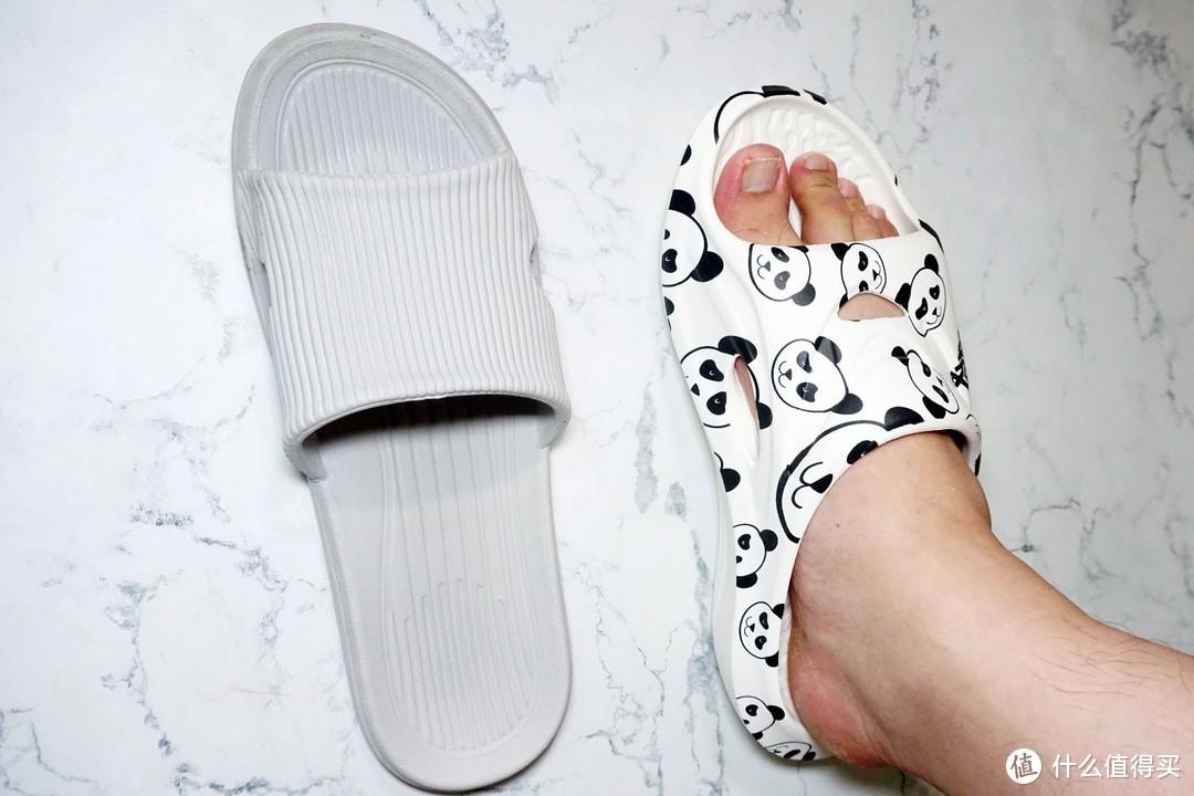 售价过百,仅仅是一双居家拖鞋?看咕咚熊猫款运动舒缓拖鞋体验