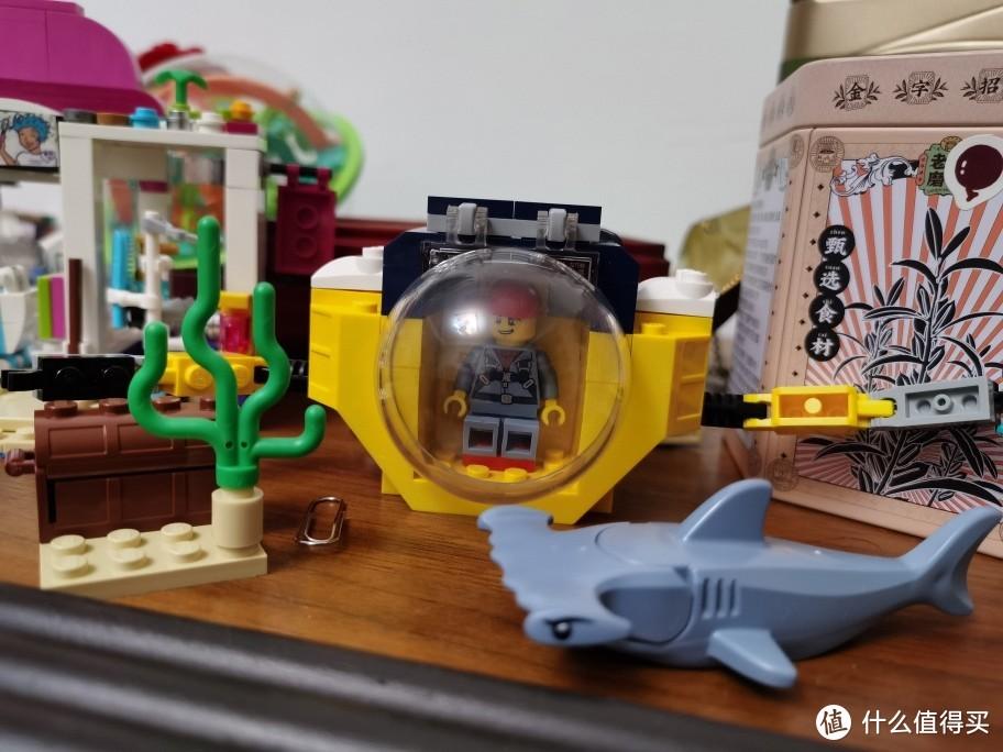 乐高60263海洋迷你潜水艇