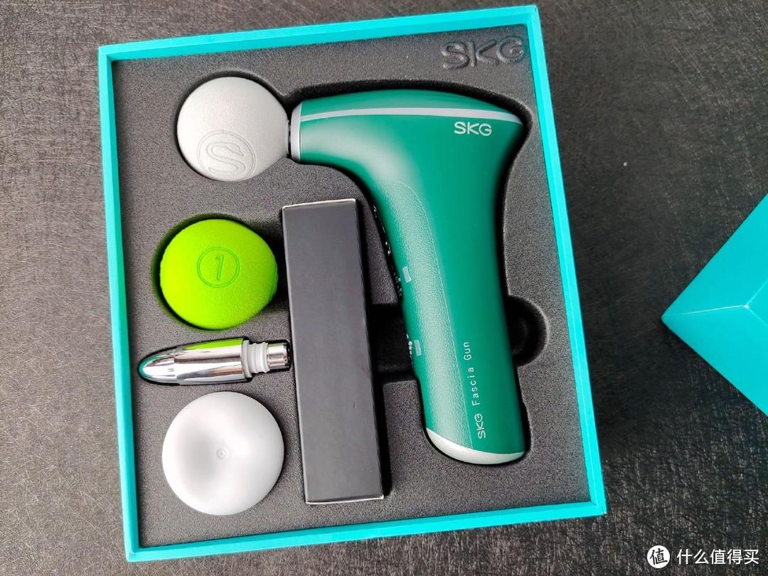 玲珑小巧,拿捏有度——SKG F5热敷按摩筋膜枪测评