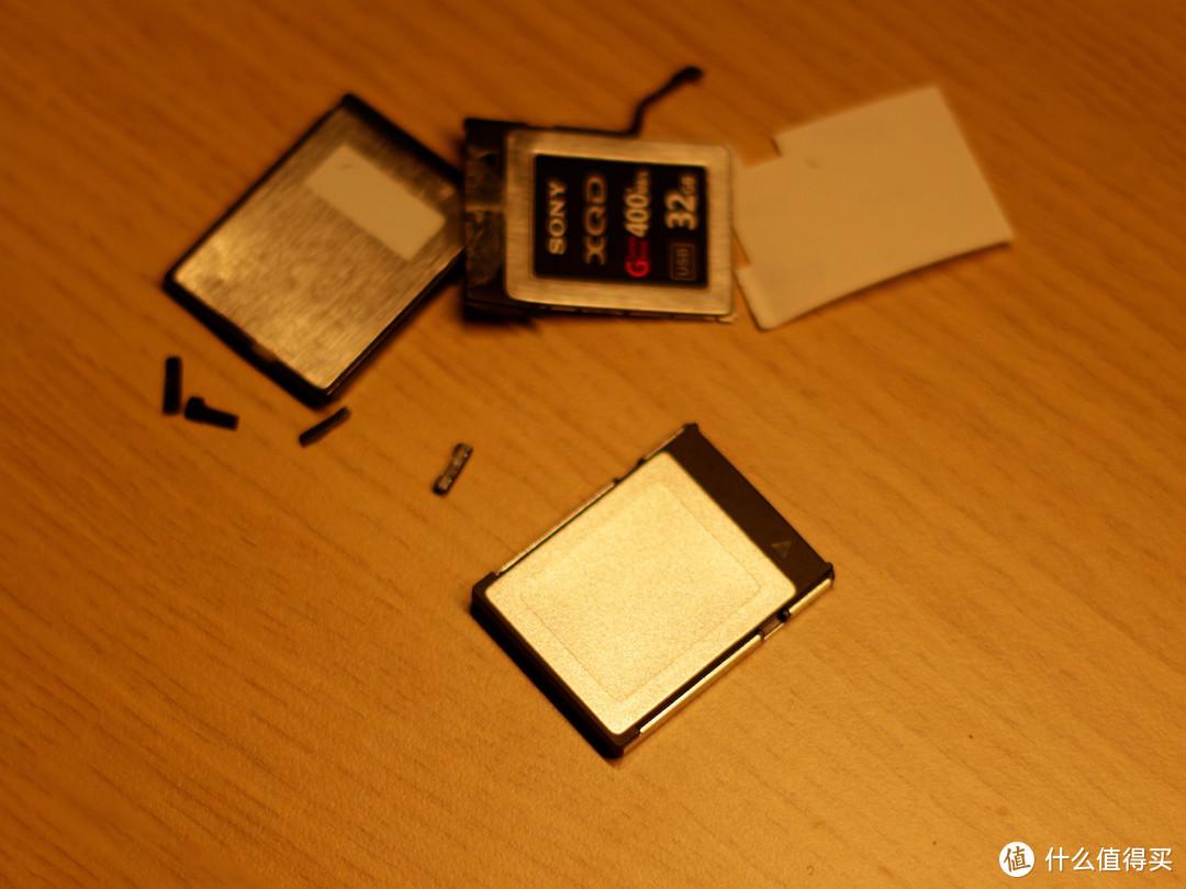 SONY 32G XQD卡换壳修复记录