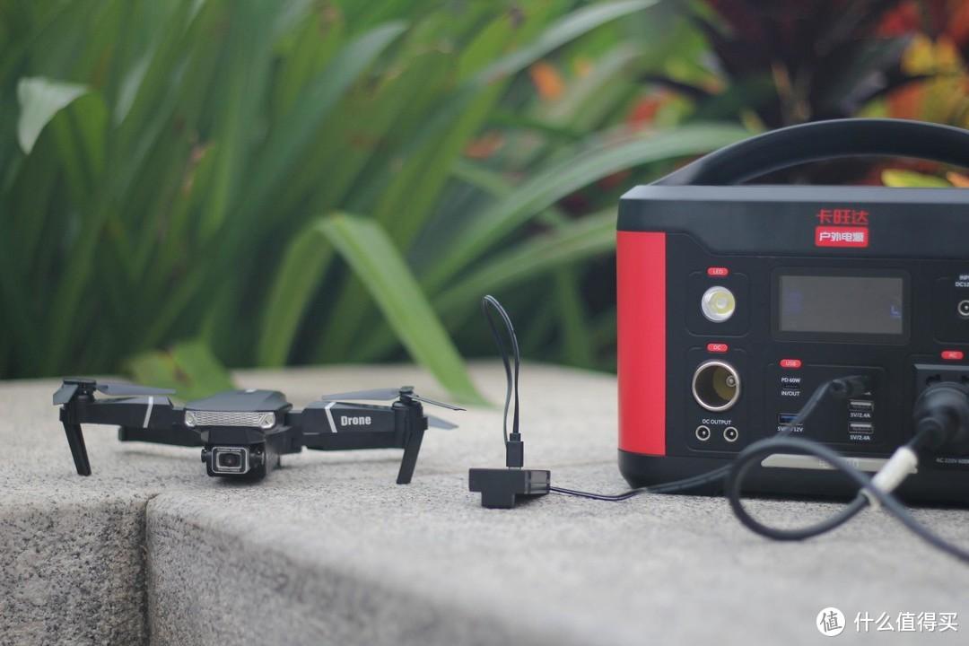 户外直播 野外派露营好伴侣,卡旺达微型小电站评测