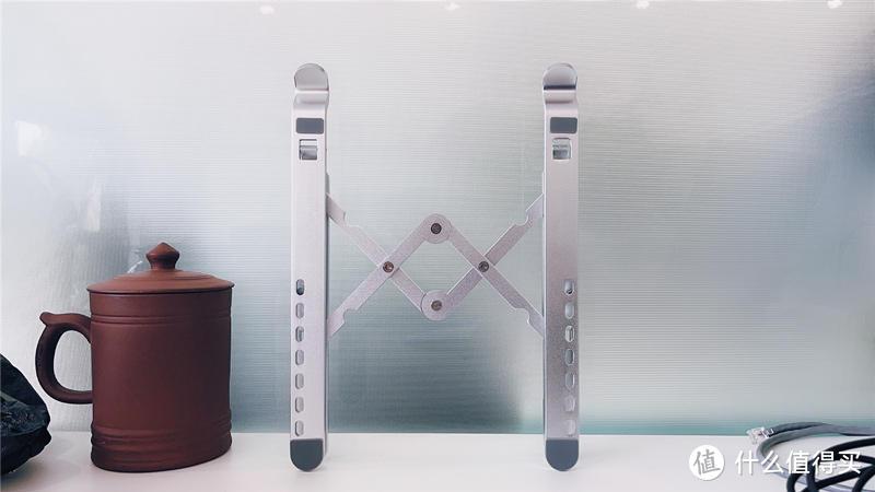 平铺笔记本,散热不行视野还不好-ORICO笔记本电脑支架