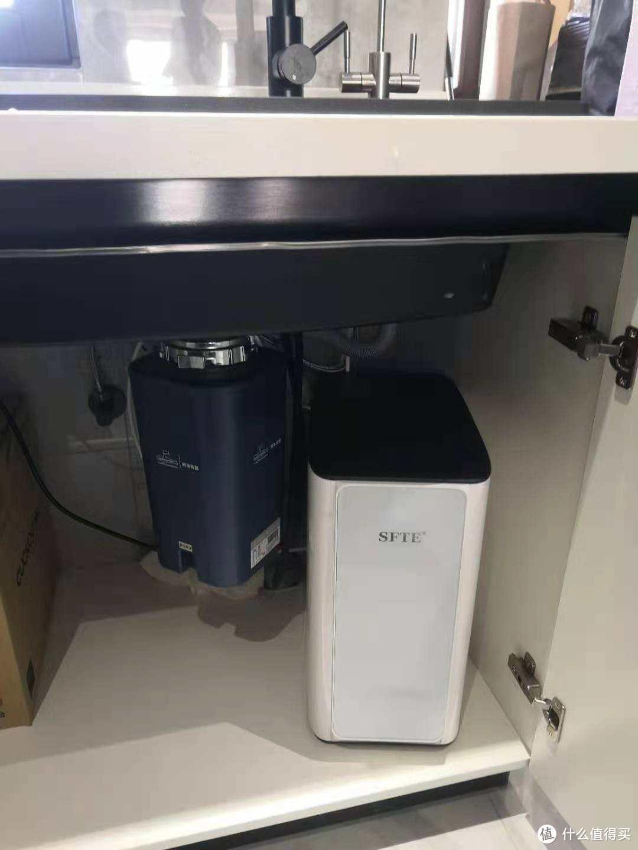 租房利器,斯芙特A400型600G无电0噪音RO净水机