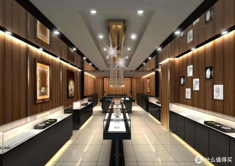 珠宝店如何去配置灯光吸引客户