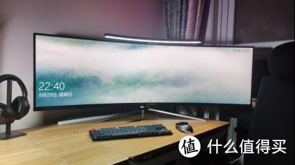 蚂蚁电竞 ANT491UC显示器上手体验,超大屏带给你更好的游戏观感