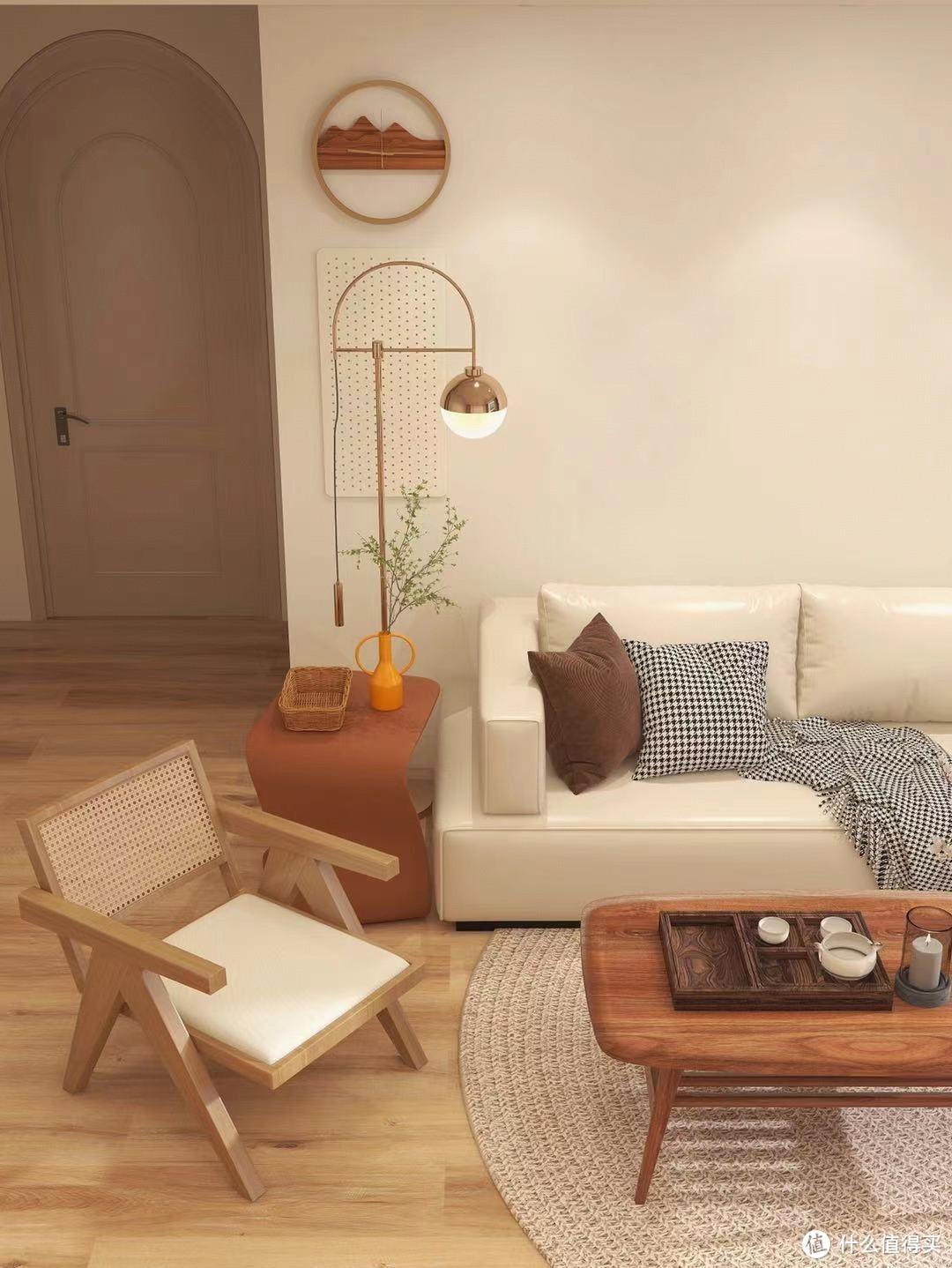 日式温馨客厅装修参考