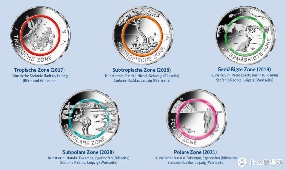 德国地球气候系列纪念币发行