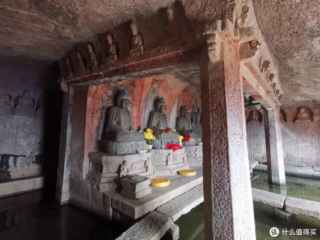 千年金灯寺,号称石窟艺术最后的华章 ©️图虫创意