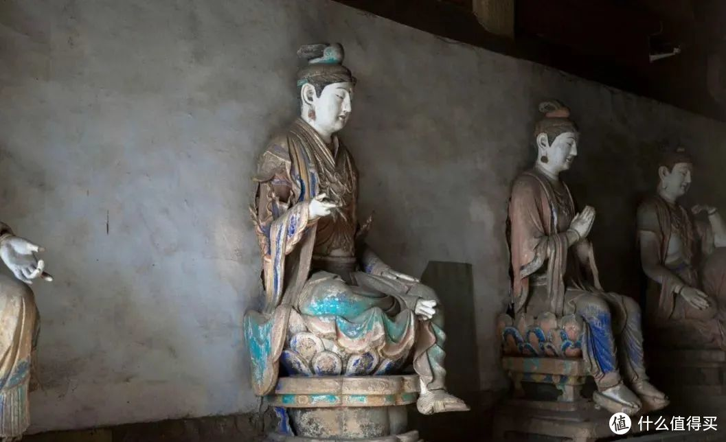 长治市法兴寺十二圆觉菩萨彩塑,在中国现存的宋代彩塑中,是独一无二的  ©️源自网络