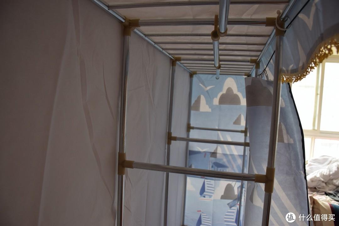 叙利亚战损风,真·简易布衣柜安装测试