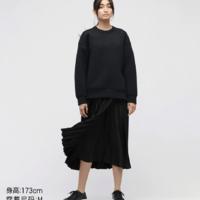 优衣库【Theory联名款】女装 打褶裙(半身裙) 445861