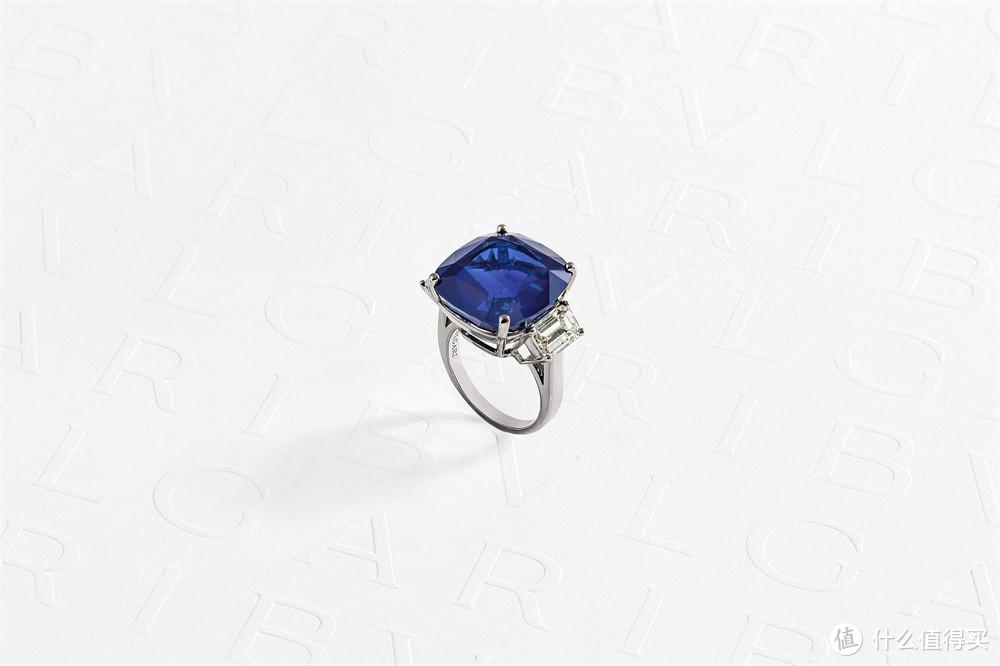 宝格丽Magnifica绮珍意宝高级珠宝系列皇家蓝戒指