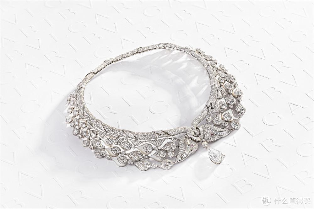 宝格丽Magnifica绮珍意宝高级珠宝系列Diamond Swan钻石天鹅项链