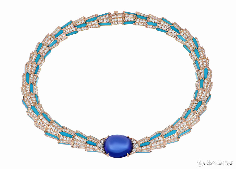 宝格丽Magnifica绮珍意宝高级珠宝系列灵蛇项链