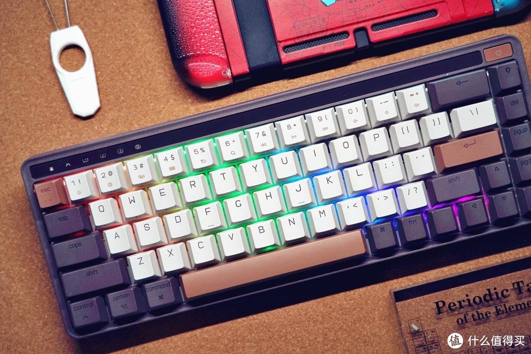 年轻人的第一把客制化机械键盘?米物 ART68 了解一下