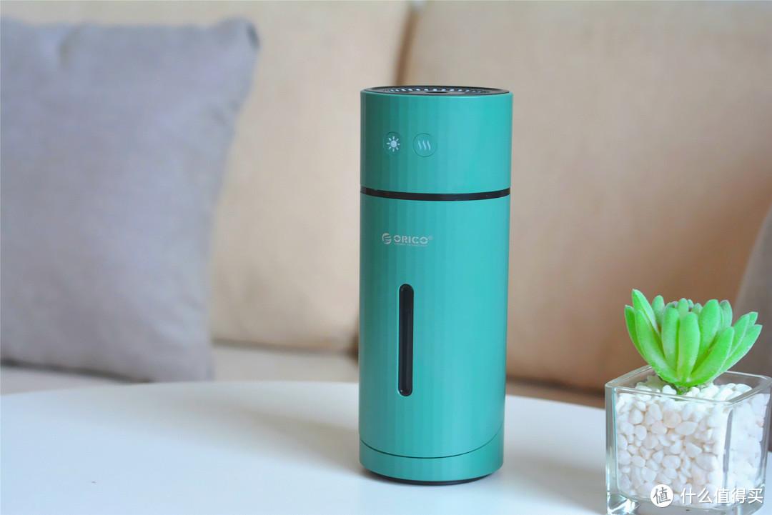 国产推出充电式加湿器,自带小夜灯功能,停电也能用