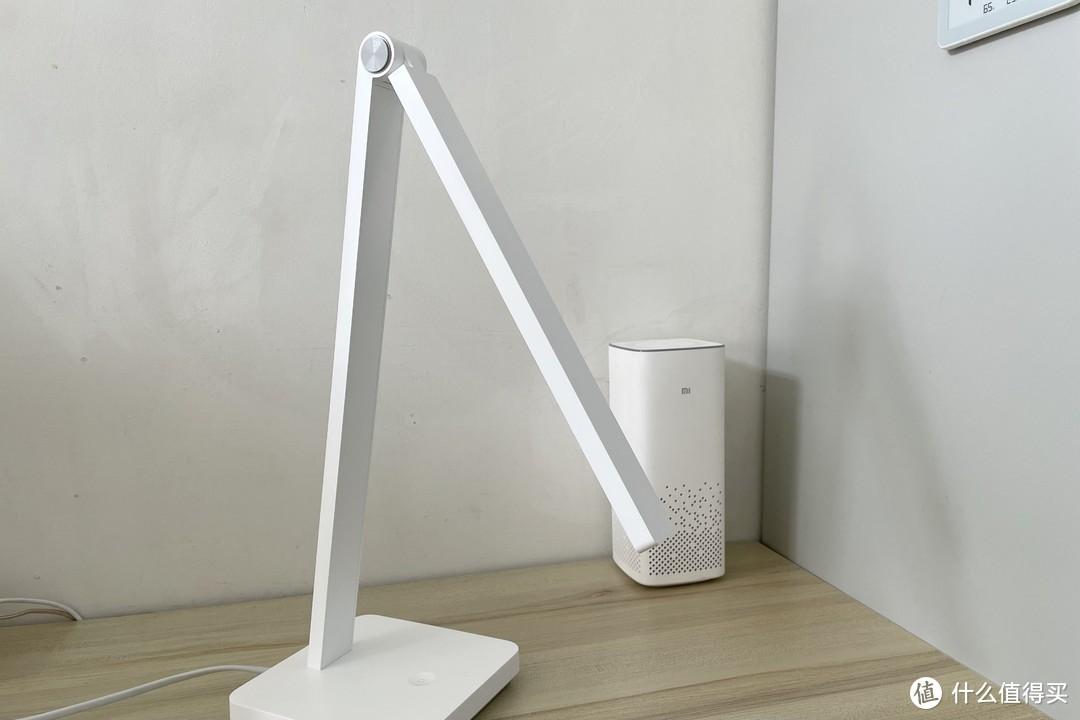 双轴调节,国A级照度,米家智能台灯Lite体验