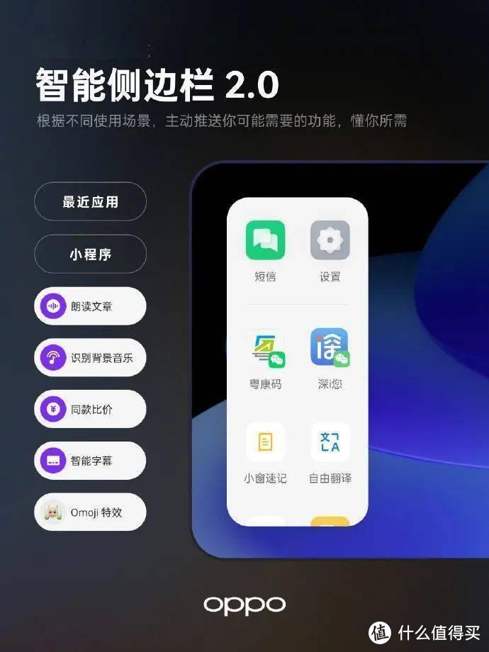 Color OS12系统:带值友们了解OPPO全系列手机新系统的功能使用测评
