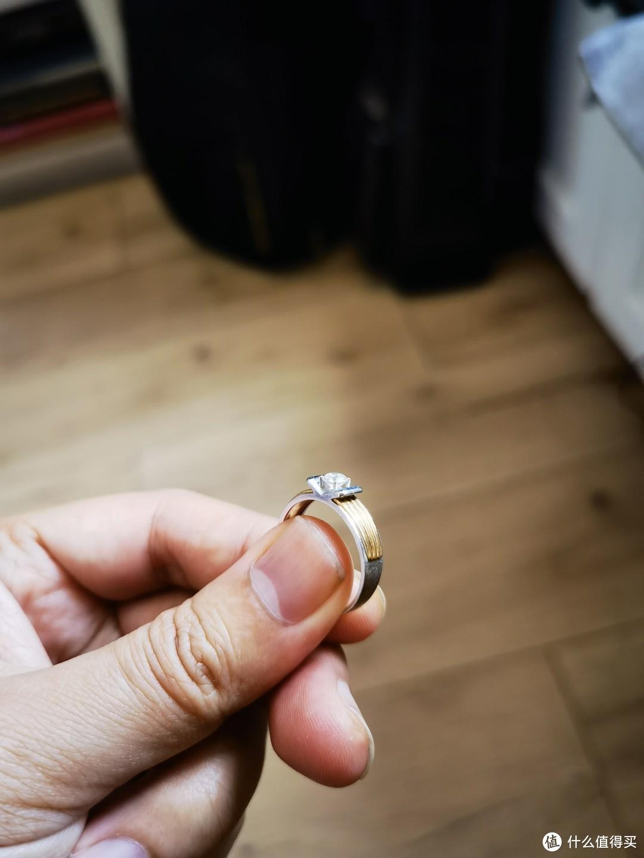 """书中自有""""金刚钻""""设计灵感的男士婚戒"""