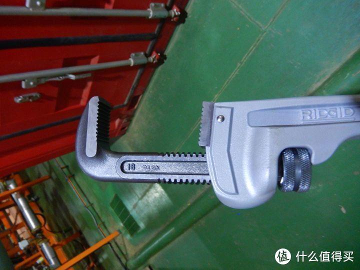 RIDGID里奇18寸伸缩式加力管钳测评