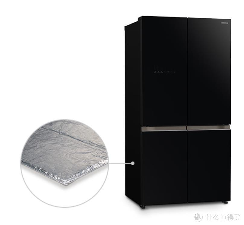 廉价冰箱怎配得起几万一平的房价?日立FBF570KXC真空保鲜冰箱,定义全面制霸的高端冰箱
