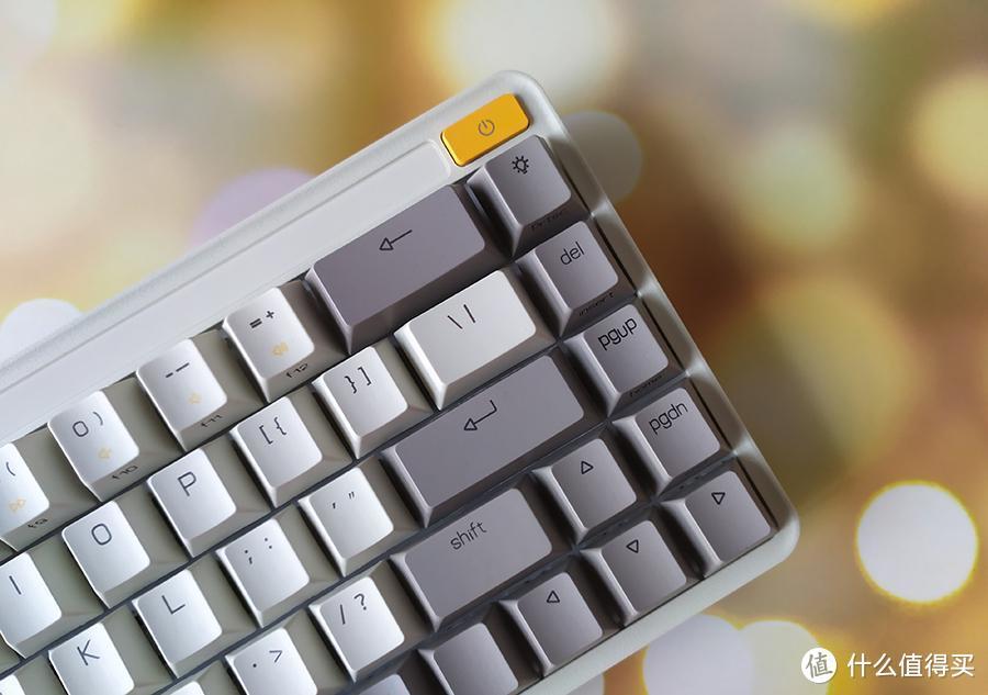 高颜值还实用 的米物ART三模机械键盘