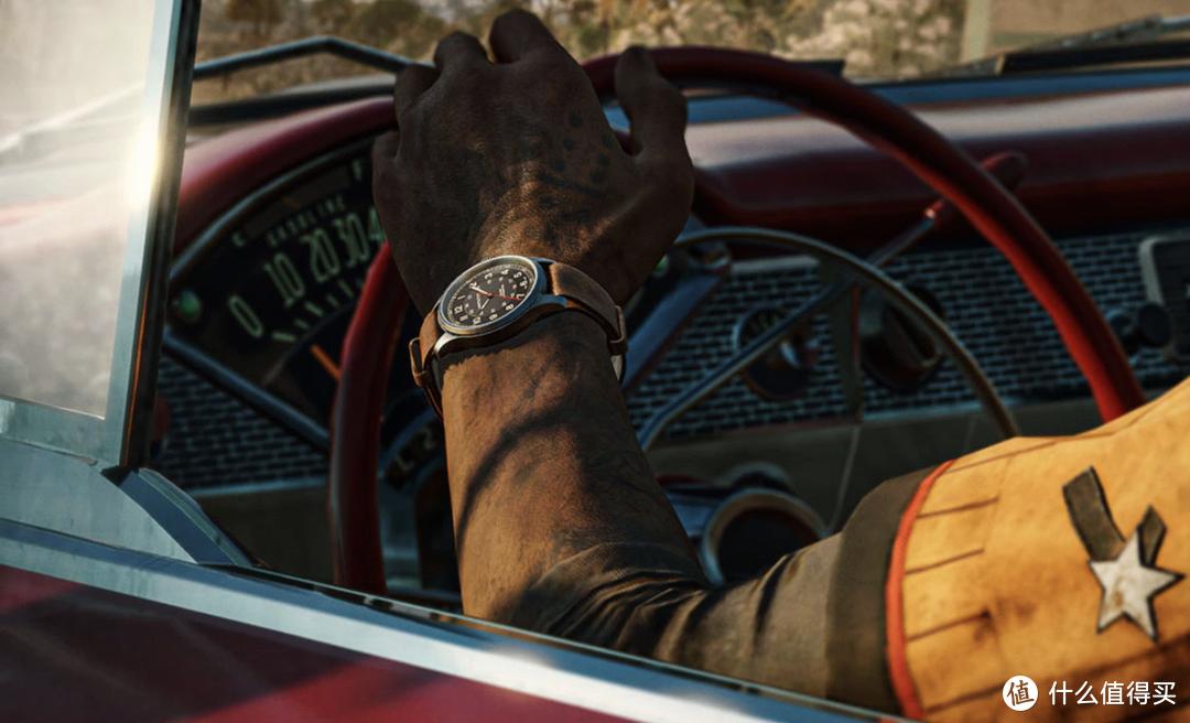 汉米尔顿《孤岛惊魂®6》野战系列腕表限量版,无论屏幕内外,随时整装待发