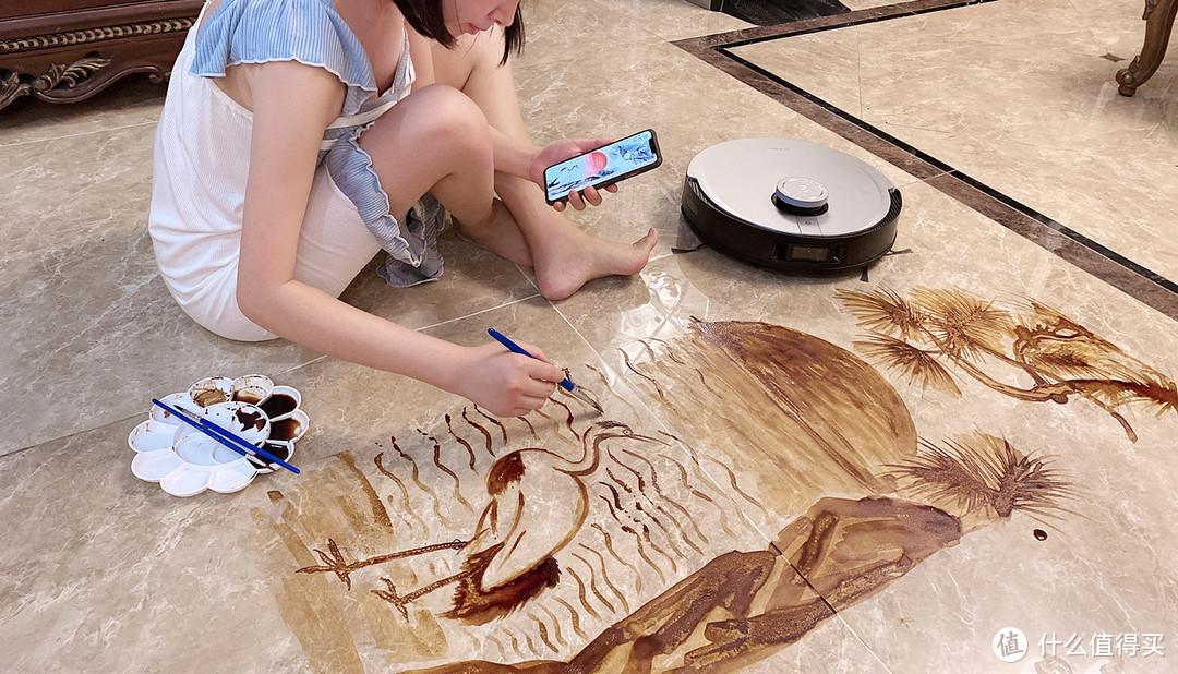 冲破恐龙迷阵,拖净酱油长画,一篇有趣的科沃斯新品DEEBOT X1 OMNI测评
